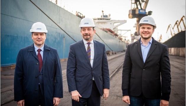 Міністр інфраструктури України на ДП «МТП «Южний»