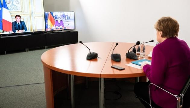 Коронакриза: Меркель і Макрон погодили пакет допомоги Європі у €500 мільярдів