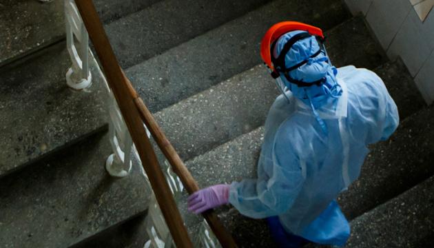 Na Ukrainie w ciągu ostatniej doby odnotowywano 4348 przypadków koronawirusa