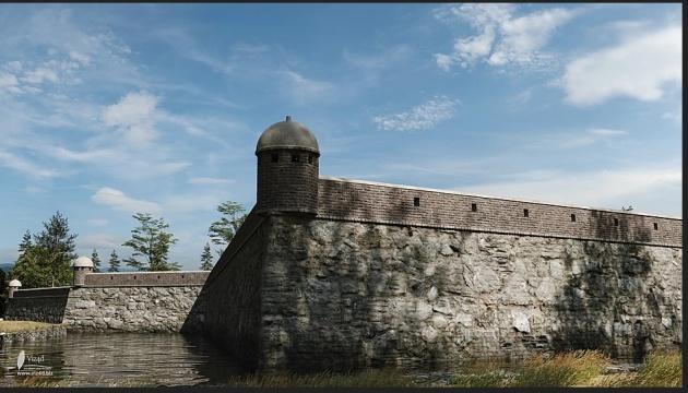 На Вінниччині відтворили у 3D зруйнований Барський замок польської королеви