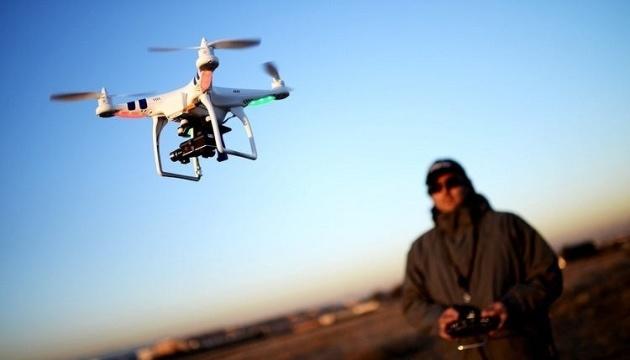 У зоні ООС затримали чоловіків, які з дрона проводили відеозйомку