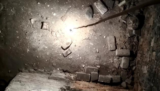 У Луцьку під вежею Чорторийських знайшли підземні кімнати
