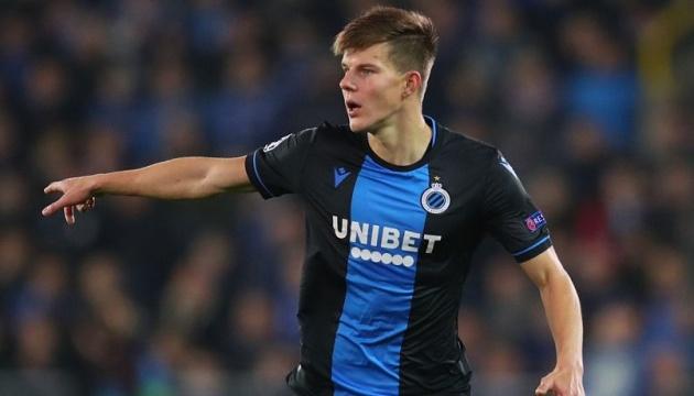 Захисник «Шахтаря» Соболь підпише повноцінний контракт з «Брюгге»