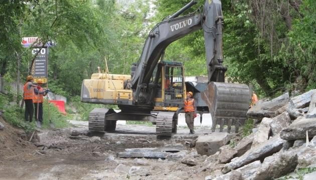 У Дніпрі розпочали капітальний ремонт Селянського узвозу