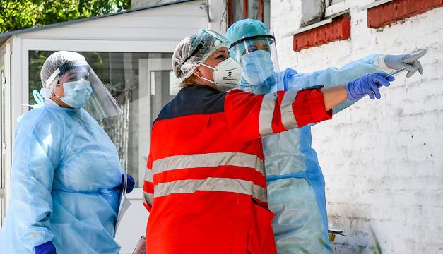 8月24日時点 ウクライナ国内新型コロナ感染新規確認1799件