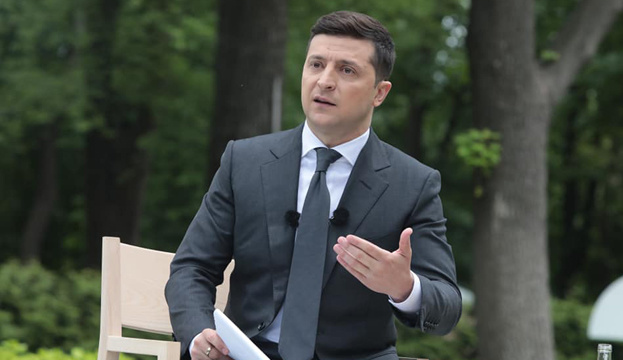 Open-Air-Pressekonferenz von Selenskyj dauerte drei Stunden
