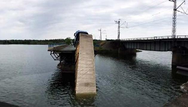 Autobrücke in Oblast Dnipropetrowsk eingestürzt