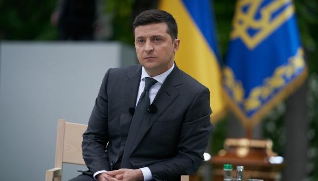 Украина хочет полной интеграции в ЕС - Зеленский