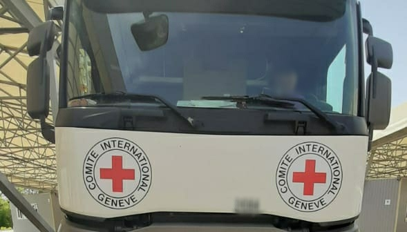 La Croix-Rouge a envoyé 19 tonnes d'aide humanitaire dans le Donbass