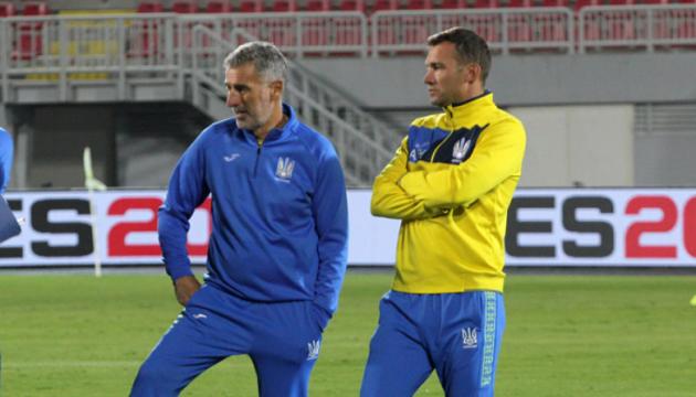 Шевченко может расстаться с одним из ассистентов в сборной Украины по футболу