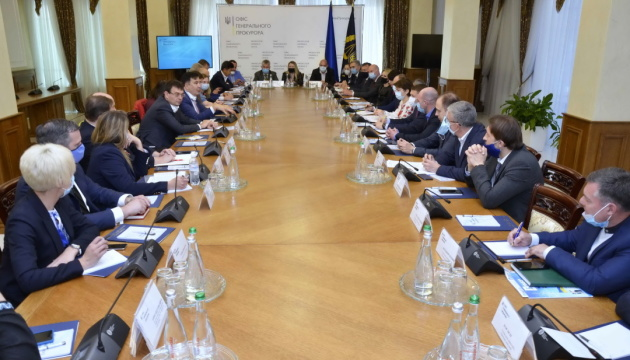 Венедіктова обговорила з Нацрадою реформ шляхи зменшення тиску на бізнес