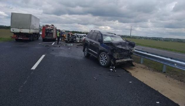 Auf Autobahn Kyjiw-Odessa Frontalzusammenstoß, drei Erwachsene und ein Kind tot