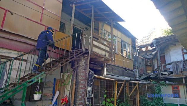 В Одесі обвалився двоповерховий житловий будинок