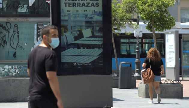 Коронавірус в Іспанії: кількість хворих наближається до 235 тисяч