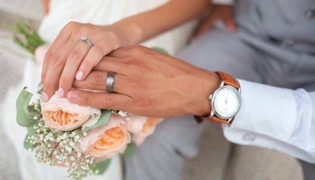 Українці на карантині одружувалися вшестеро частіше, ніж розлучалися