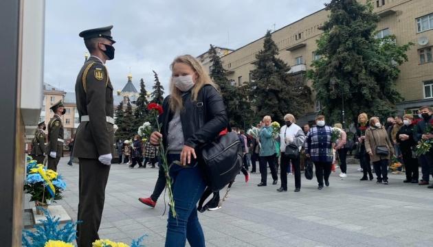 У Житомирі поклали квіти до пам'ятних знаків борців за Україну