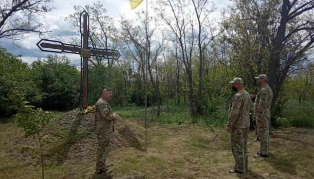 З нагоди Дня Героїв на Луганщині вшанували бійців УНР
