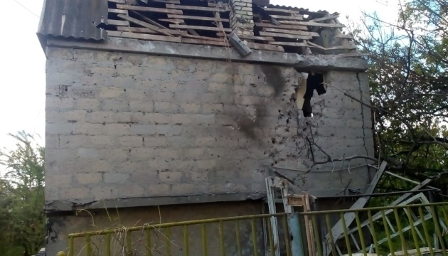 Окупанти обстріляли будинки у Кам'янці на Донеччині