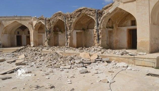 Землетрясение в Иране разрушило историческую достопримечательность