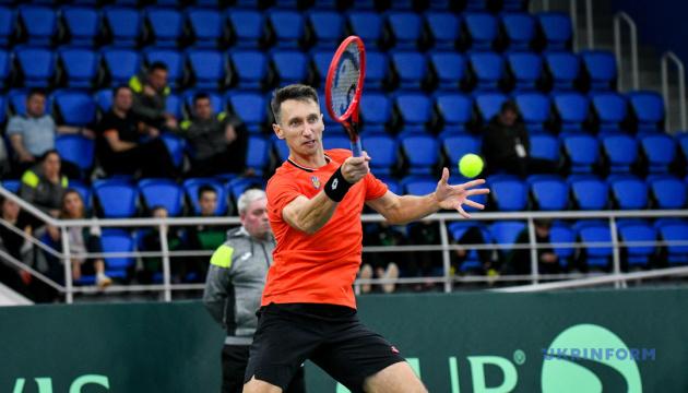 Теннисист Стаховский заболел COVID-19 и досрочно завершил выступление в Братиславе
