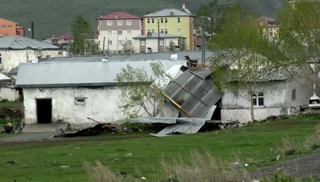 Ураган в Турции: благодаря карантину обошлось без жертв