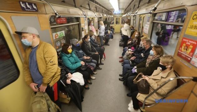 キーウ市で大渋滞発生 地下鉄利用者は若干増加