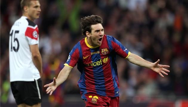 Мессі визнаний кращим гравцем в історії фіналів Ліги чемпіонів УЄФА