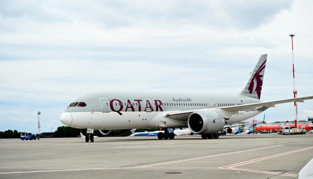 Катар направил почти 9 тонн средств защиты для украинских медиков