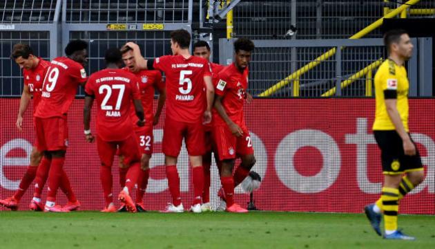 «Бавария» обыграла «Боруссию» Д и оторвалась на 7 очков