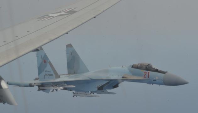 Российские истребители совершили опасный перехват самолета США