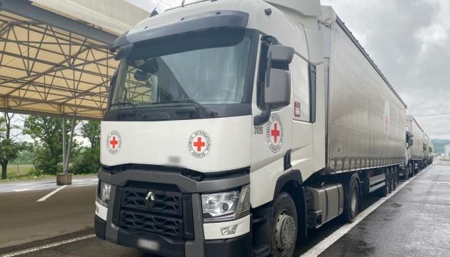 La Croix-Rouge a livré plus de 50 tonnes d'aide humanitaire au Donbass occupé