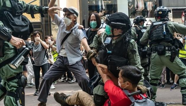 Чотири держави висловили протест проти масових затримань у Гонконгу
