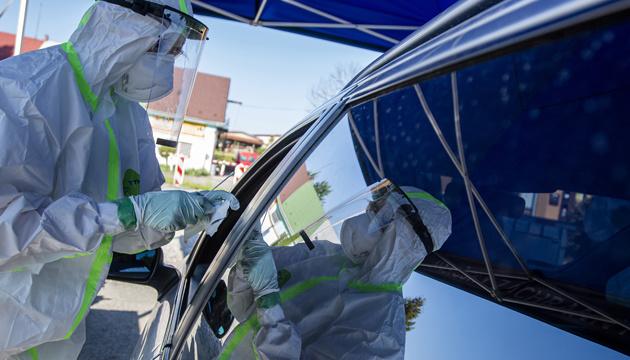9月1日時点 ウクライナ国内新型コロナ感染新規確認2088件
