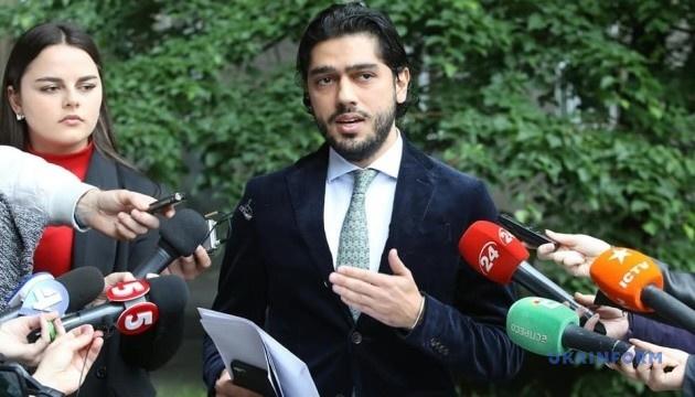 Депутат Лерос приїхав до НАЗК подавати заяву про корупцію в Міненерго