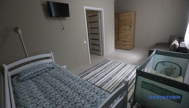 キーウ市内にDV被害者避難用の初シェルター開設