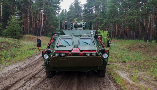 Ukrainian military get another batch of APCs