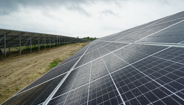 На Житомирщині відкрили сонячну електростанцію