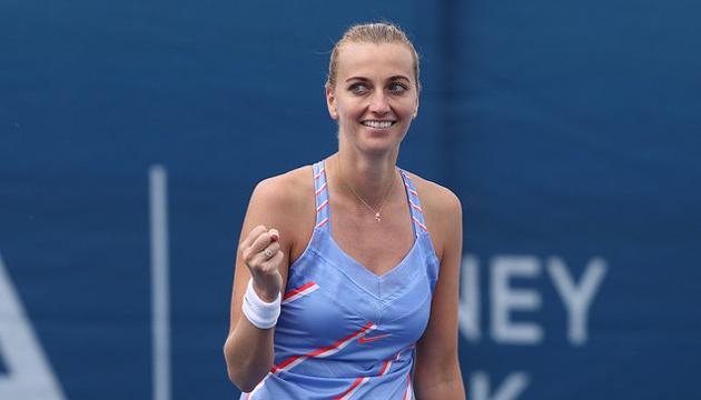 Петра Квитова стала победительницей выставочного турнира в Праге
