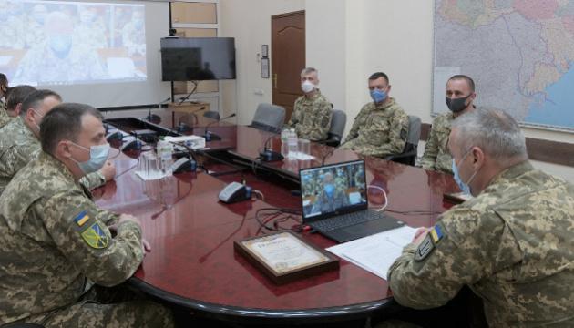 Наев провел видеоконференцию с украинскими миротворцами в Конго