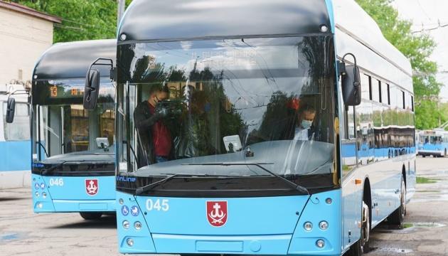 У Вінниці випустили на лінію два тролейбуси власного виробництва VinLine