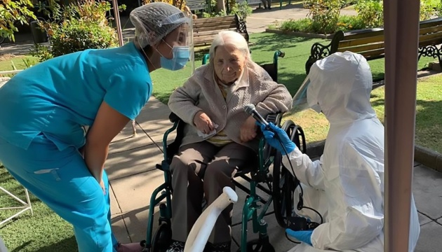 Від COVID-19 одужала 111-річна чилійка