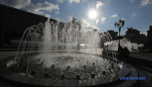 У Києві запрацювали фонтани