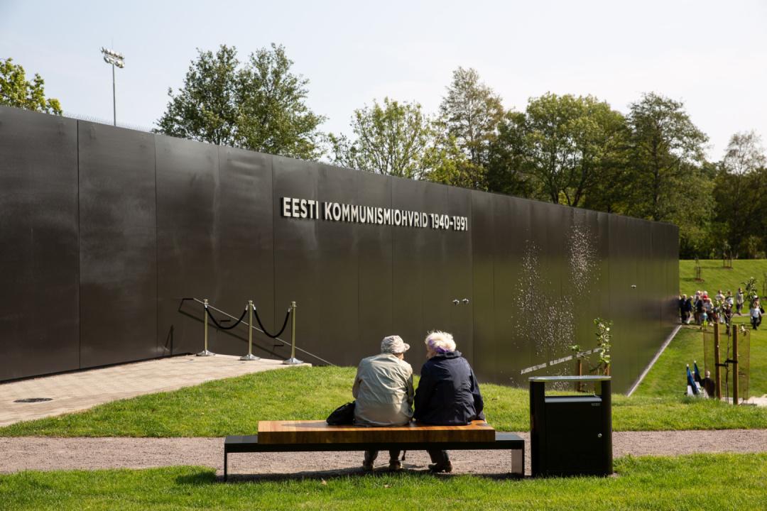 Пам'ятник жертвам комунізму в Естонії / Фото: Прийт Мюрк/ERR