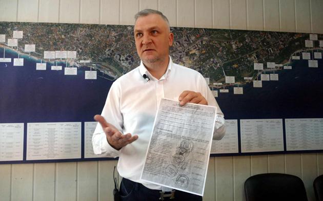 Фото: Ось так виглядає паспорт пляжу, схвалений департаментами і службами Одеської мерії