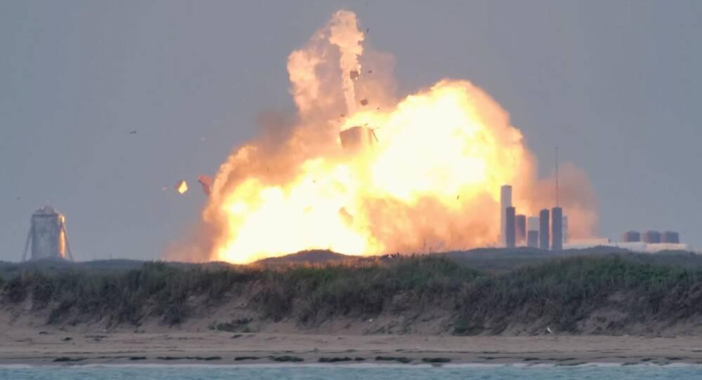 Ілон Маск прокоментував вибух прототипу Starship