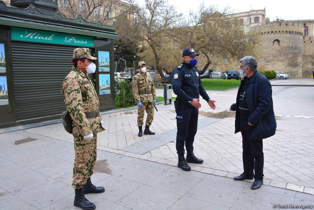 На два тижні карантин посилили в Азербайджані / Фото Trend News Agency