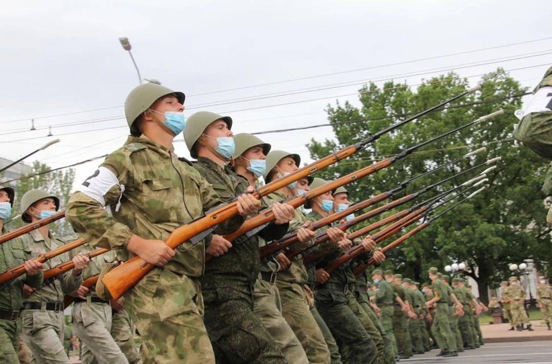 В Донецьку провели репетицію параду: основними