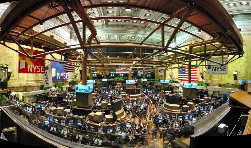 Робочий день на біржі в Нью-Йорку