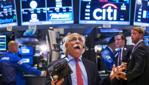 На біржі в Нью-Йорку