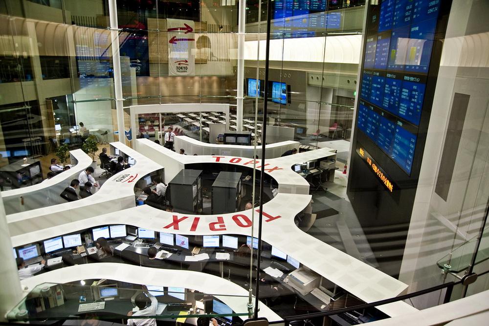 Токійська фондова біржа
